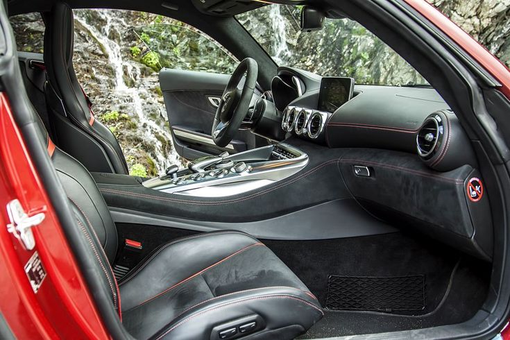 Interior - Test Mercedes-AMG GT Transafagarasan 3  mercedesblog.com #mercedesblog #mercedesblog.com #amggts