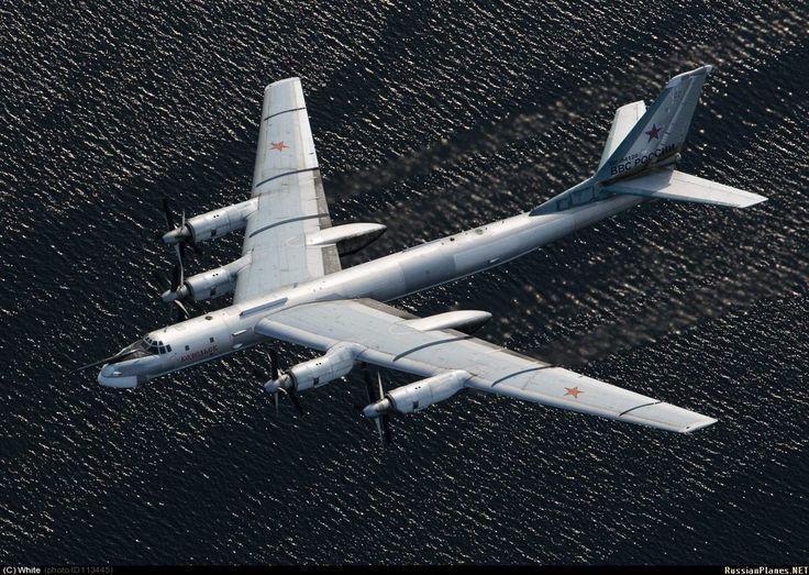 Tupovlev Tu-95MS Nato name Bear - Russian Air Force