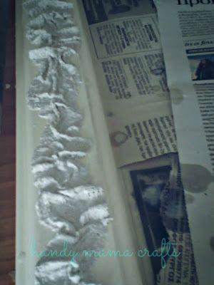 handy mama crafts: Ο καθρέφτης του μπάνιου στο σαλόνι!!