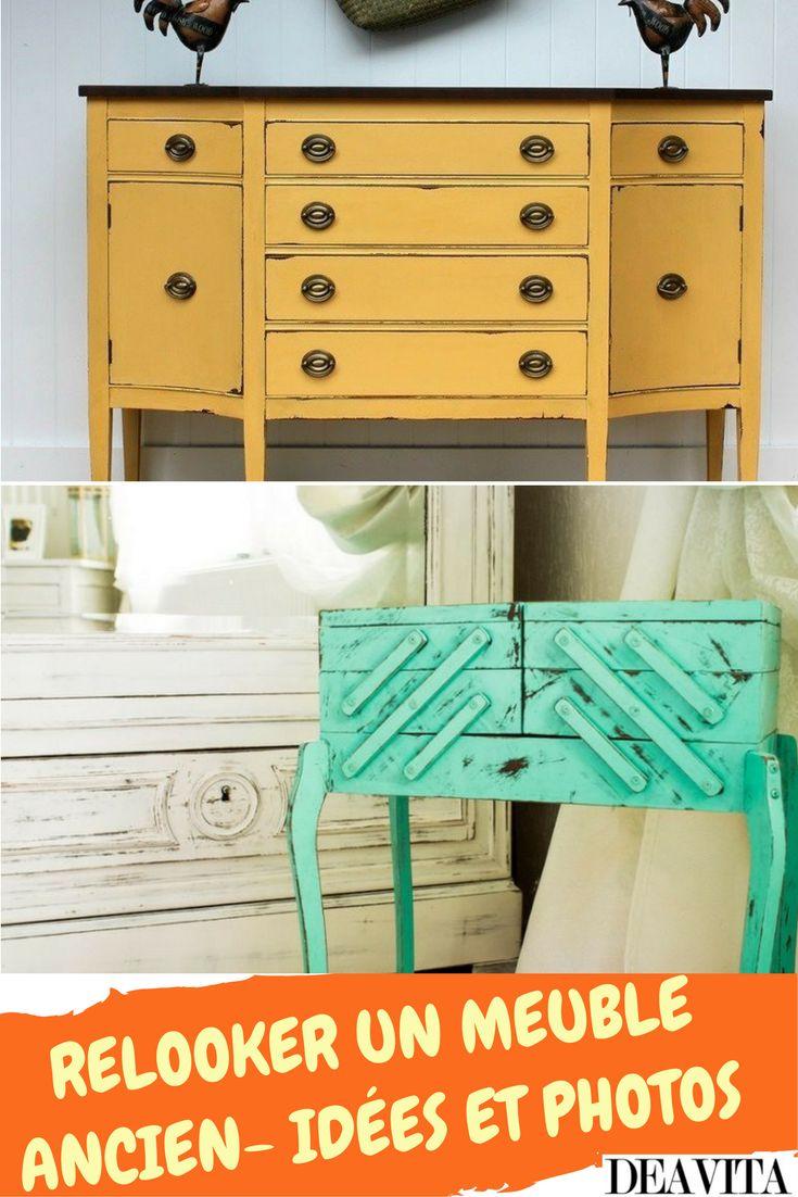 En général, relooker un meuble ancien avec de la peinture n'est pas très difficile. Il n'y a que 3 étapes essentiels à suivre et 2 voies cardinales qu'on peut prendre – repeindre pour renouveler ou teindre (ou bien cirer, poncer, etc.) pour vieillir. Quel que soit votre choix, l'article présent vous sera bien utile en tant que source d'idées originales pour bien relooker un meuble ancien d'un vide-grenier ou du marché aux puces afin de le transformer en chef-d'œuvre du design d'intérieur!