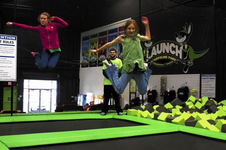 Hartford Opens New Trampoline Park Called Launch | Fun for kids ...