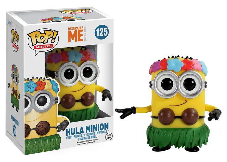 Funko Pop! Movies: Despicable Me - Hula Minion