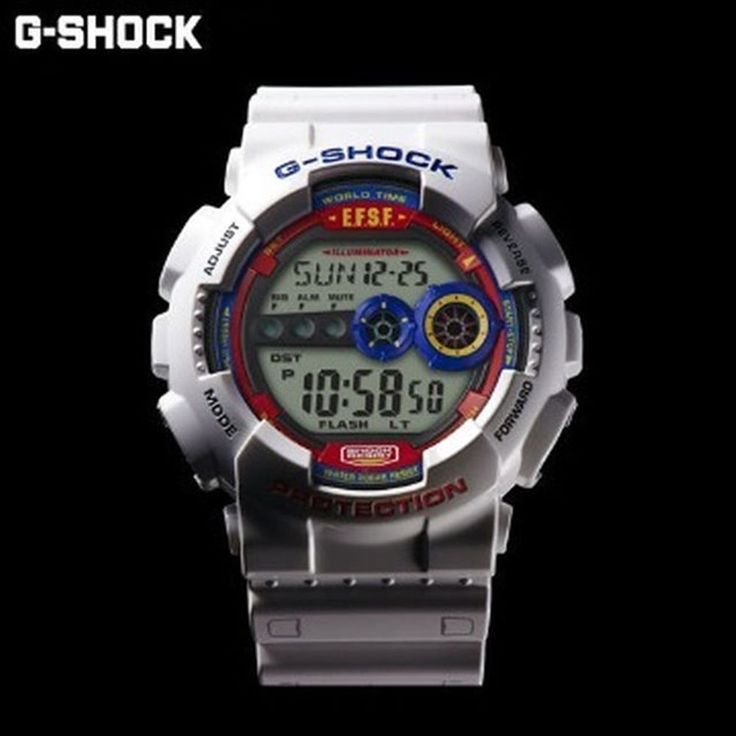 CASIO G-SHOCK × GUNDAM Mobile Suit 35th Anniversary Bandai Mobile Suit DW-6900  #GSHOCK