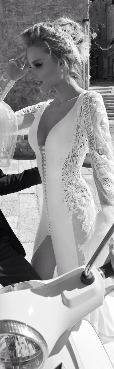 High Fashion | Bridal Style | Wedding Ideas: Galia Lahav fantastic wedding dress