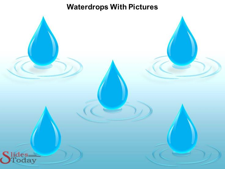 Best Waterdrops Powerpoint Template Images On