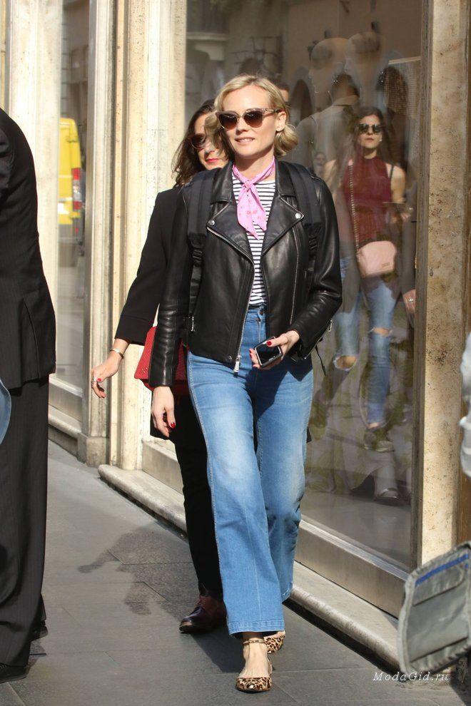 Уличный стиль Роузи Хантингтон-Уайтли, Джиджи и Беллы Хадид, Дженнифер Энистон, Джессики Альбы и многих других знаменитостей.