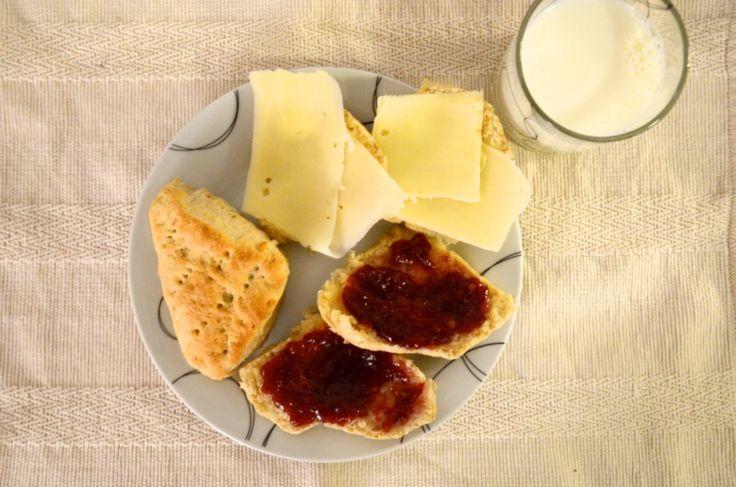 Article Oppskrift: Sunne, grove scones til frokost - raskt og enkelt! image