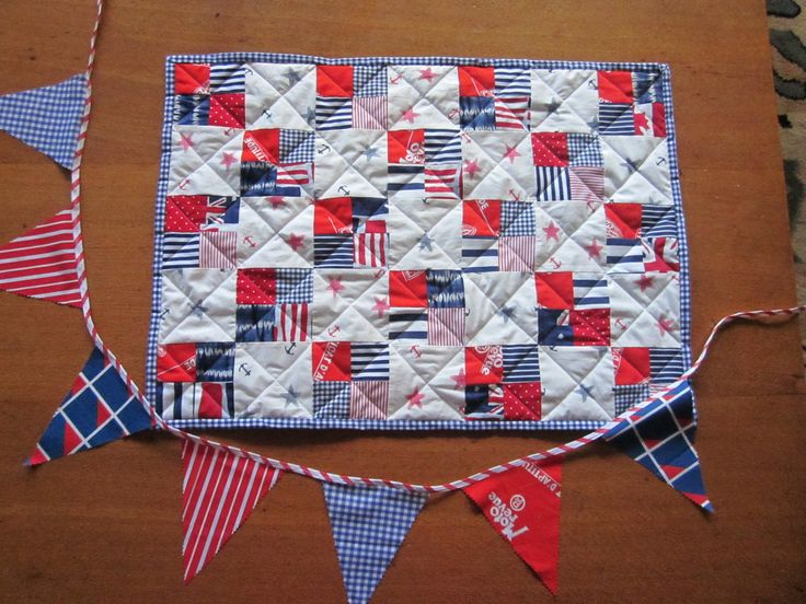 Baby present for Edward [on the boat] to be used as bathmat when he outgrows it !