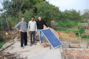 From left : Nikhil Jaisinghani , Sandeep Pandey , Brian Shaad