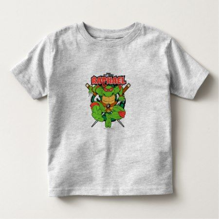 TMNT | Raphael - Cool But Crude Toddler T-shirt - click to get yours right now!