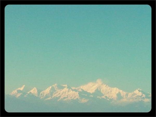 Kanchenjunga Peak seen from Darjeeling...