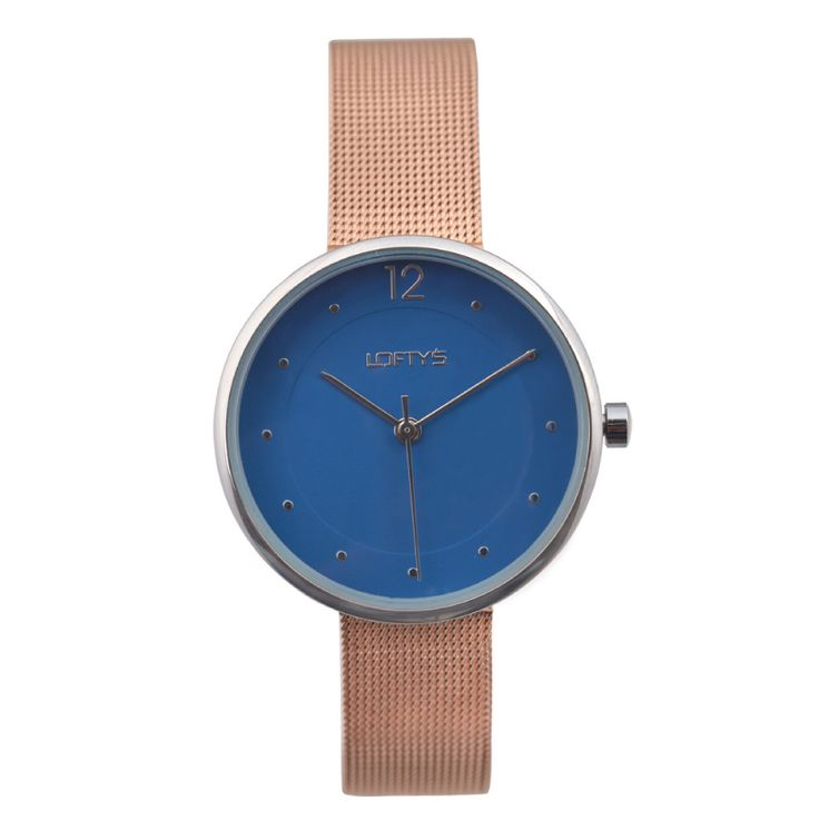 Ladies Watch with Rose Gold Bracelet Y 2008RB - https://www.loftyswatches.com/shop/ladies-watch-with-rose-gold-bracelet-y-2008rb/