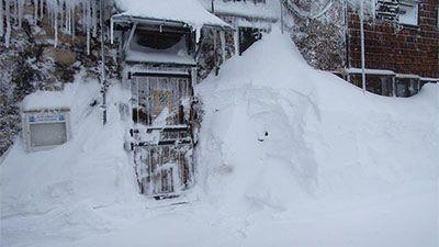 Auf der Zugspitze 5 Meter Schnee - Höchster Wert seit 16 Jahren