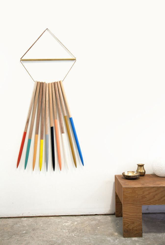 colorful wall hanging #designeveryday