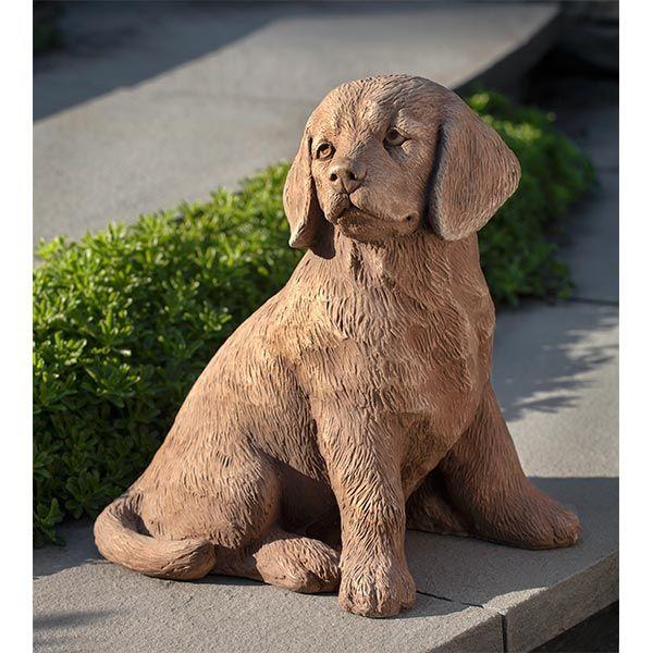 Golden Retriever Puppy Statue A-535