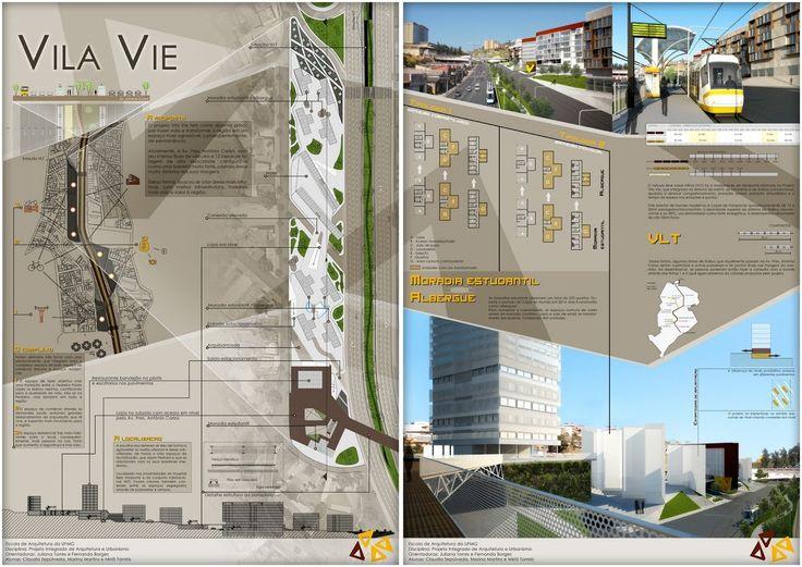 diagramação de prancha arquitetura - Pesquisa Google