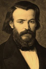 Antoine-Frédéric Ozanam--(1813-1853) was a French scholar. He founded with fellow students the Conference of Charity, later known as the Society of Saint Vincent de Paul.[1] He was beatified by Pope John Paul II in the Cathedral of Notre Dame de Paris in 1997, hence he may be properly called Blessed Frederic by Catholics. His feast day is September 9.