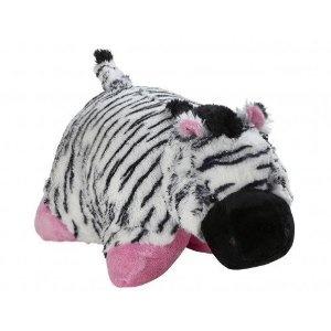 My Pillow Pet Zebra - Large (Black White \u0026 Pink) in Plush Pillows.