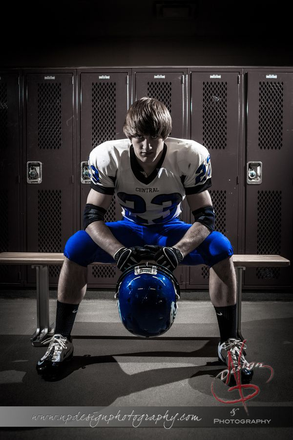 Cody. Senior Portraits. Sports Photography. www.npdesignphotography.com