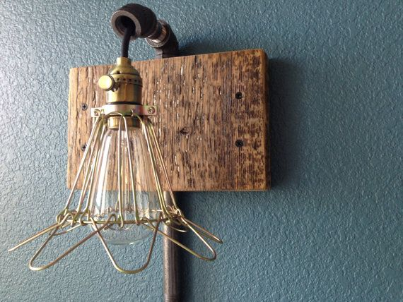 reclaimed barn wood light fixture by decorevive on etsy. Black Bedroom Furniture Sets. Home Design Ideas