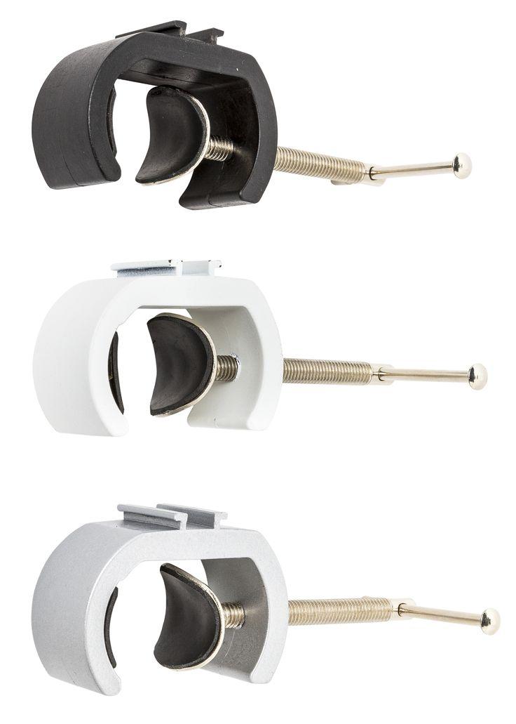 Displaylamp klem voor op buizen tot 44 mm