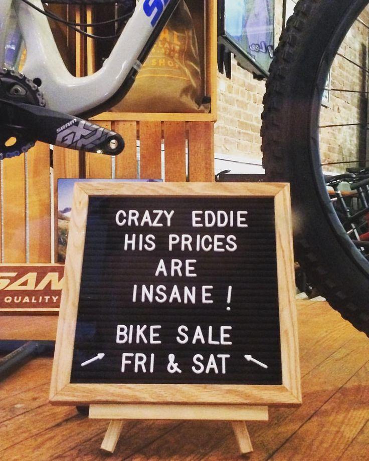 "114 Likes, 8 Comments - Pedal Montclair ・sales・service (@pedalmontclair) on Instagram: ""#crazyeddie #sales #montclairnj #nj #ny #ct #pa #mtb #supportyourlocalbikeshop #shoplocal…"""