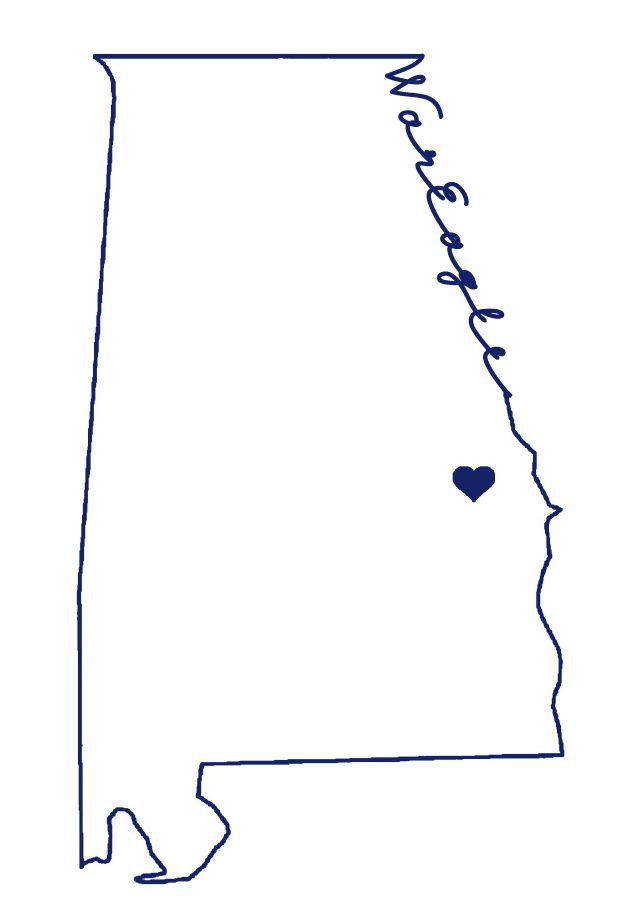 Where's Auburn? There's Auburn!