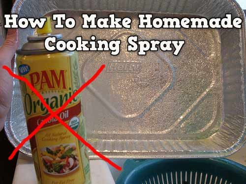 How To Make Homemade And Natural Cooking Spray