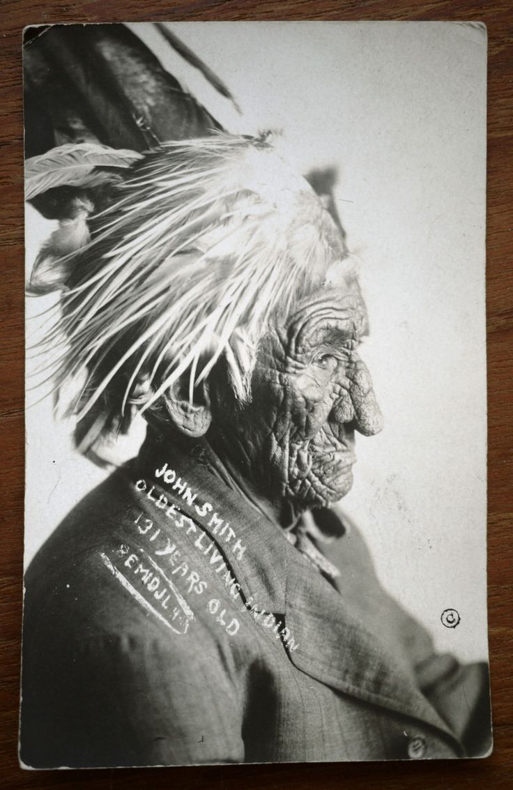 John Smith.  Oldest Living Indian.  131 years old.: Living Indian, 131 Years, Oldest Living, American Indian, Oldest People, Age 131, A Years Ago, John Smith, Native American