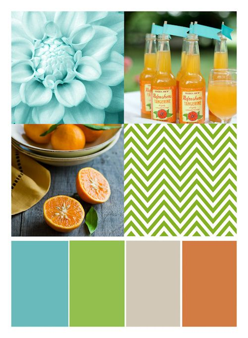 Color combo by Susan Weinroth and Kelly Noel for NSD at Studio Calico.