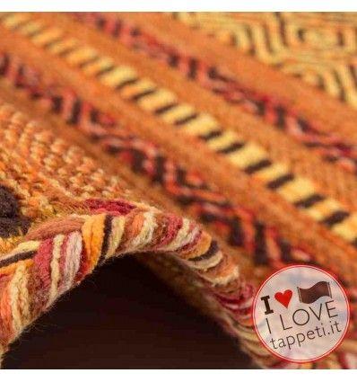 tappeto geometrico Alhambra 335 terra