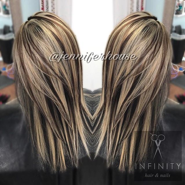WEBSTA @ jennifer.house - #jenniferhouse #infinitysalon #chunky #chunkyhighlights #nightandday #joicoblondelife #joicolumishine