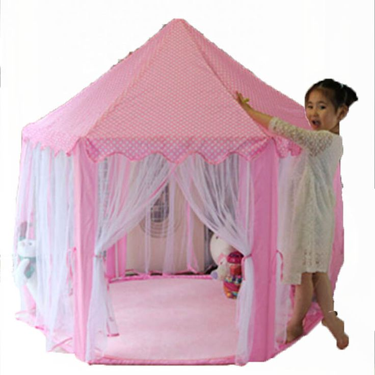 Aliexpress.com : Buy Kids Portable Play Tents Children Toy Game House Princess Castle Tent Indoor  Teepee Baby Folding  Playpens…