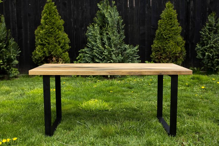 Reclaimed Oak Coffee Table by PriosTeam on Etsy
