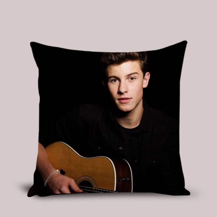 New Shawn Mendes Pillow Cover Cushion Throw Pillowcase 16x16 18x18 20 inches #Handmade #TwinSides