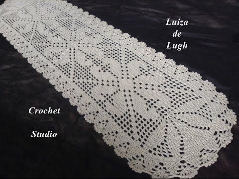 Crochê - Tapete com 1 metro e 75 cm # Luiza de Lugh - YouTube
