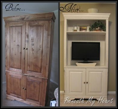 I think this is my armoire.  May need to paint it white!!