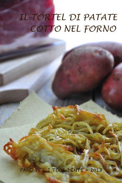 Tortel di patate cotto in forno