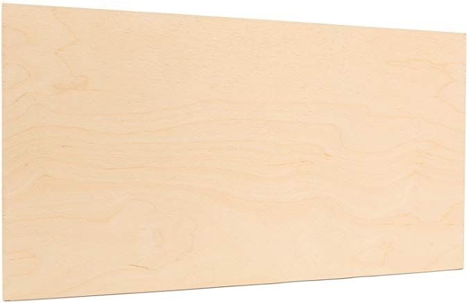 Amazon Com 3 Mm 1 8 X 12 X 24 Inchpremium Baltic Birch Plywood Box Of 6 B Bb Birch Veneer Sheets Per Baltic Birch Plywood Birch Plywood Woodburning Projects
