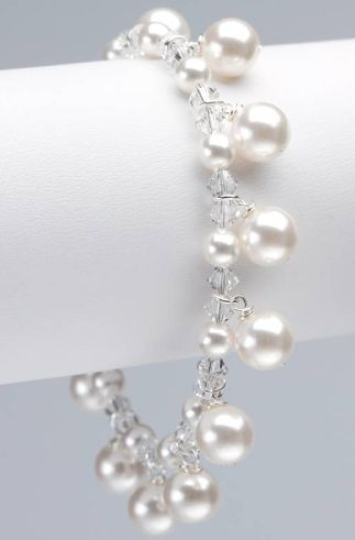 @Jerica Guillory I think I need one of these...Swarovski Pearl - Annie Bracelet
