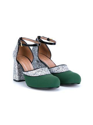 Marni туфли Мэри Джейн с блестками