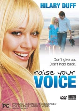 Raise Your Voice is a real tear-jerker. I've watched it like five times and still get tearful over the story.