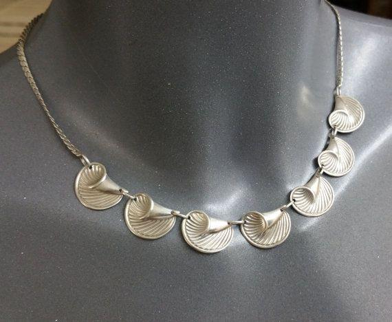 Halskette Collier Silber 925 Muscheldesign SK796 von Schmuckbaron