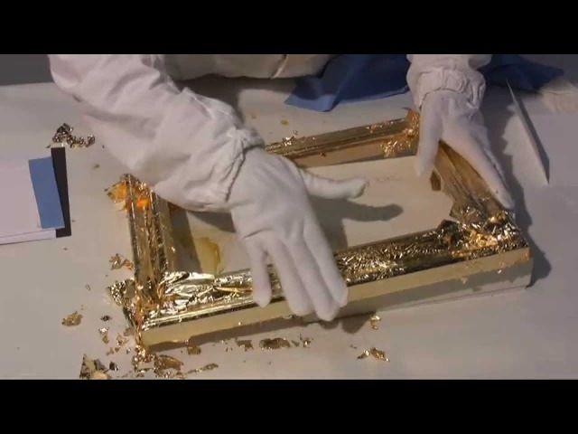 Имитация золота и серебра
