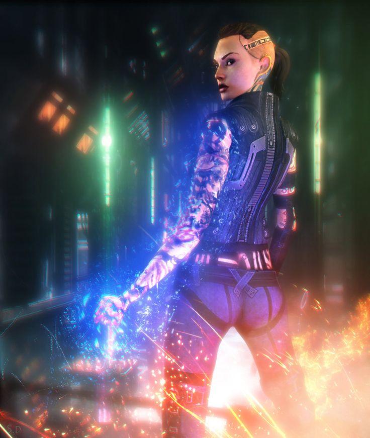 Jack (Mass Effect) by SallibyG-Ray on DeviantArt
