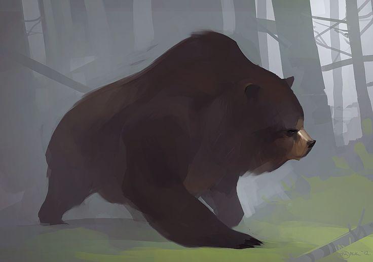Ursa by *Mr--Jack: Bears Bears, Design Illustrations, Bears Complex, Awesome Bears, Character Design, Freak Bears, Illustrations Animal, Art Attack, Cartoon Bears