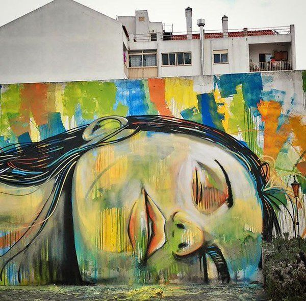 Alice Pasquini (2015) - Ponte de Sor (Portugal)