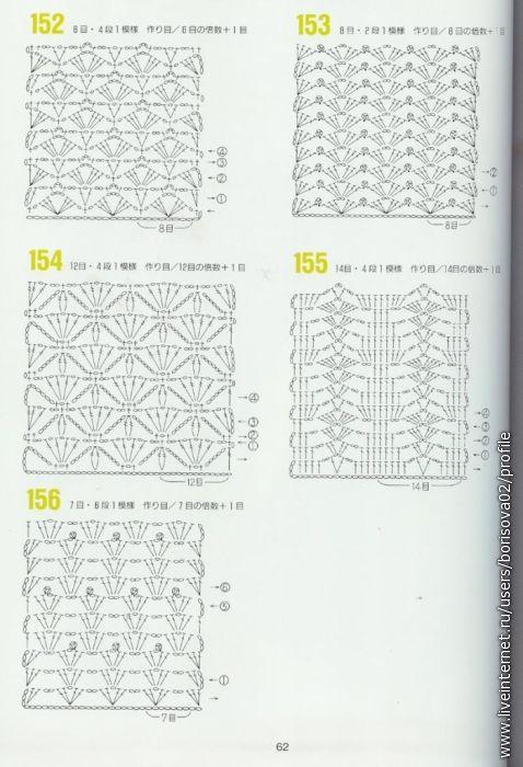 114 mejores imágenes de crochet en Pinterest | Motivo de ganchillo ...