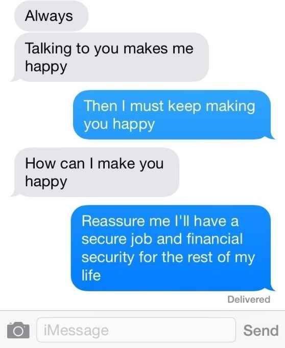 Flirty But Not Too Flirty Texts