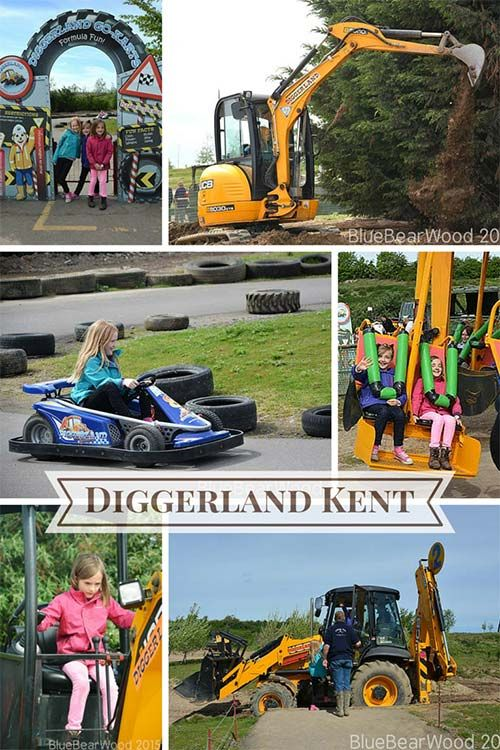 Diggerland is a fabulous theme park packed full of diggers you can drive and ride on. It makes for a great fun family day out.
